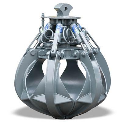 Polipo idraulico a cilindri verticali