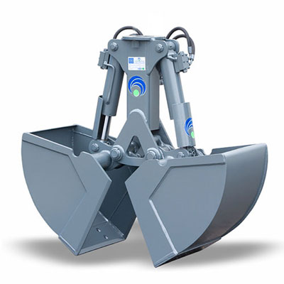 Hydraulic grapples for cranes attachments and excavators